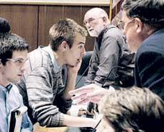 Rosenberger approaches Borough Council about surveillance cameras last April.